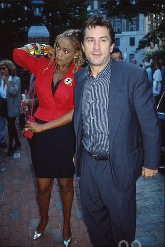 Robert De Niro & Toukie Smith, 1990