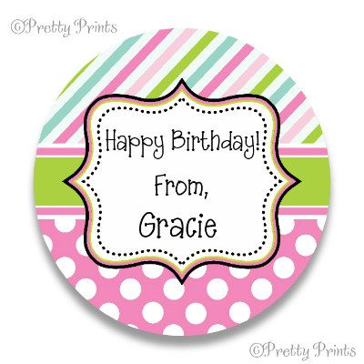 Set of 12 Round Labels (2.25 or 2.5 - Please select a size.)  These Round White Standard Adhesive Stickers are multi-functional. They are great for school supplies, gifts, gift tags, cards, return address labels, food items, save the date, wedding showers, jars, letters… anything you can think of! You may request different colors. Include font choice and text to be printed. If no font choice is included with your order the font shown in the listing will be used.  Please note, all computer…