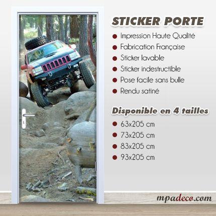 Sticker Porte 4x4