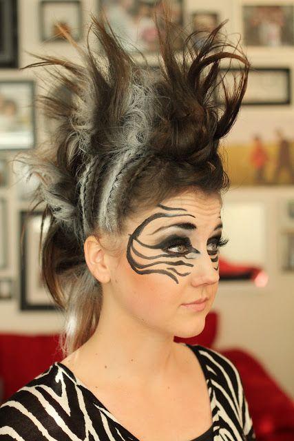 zebra hair