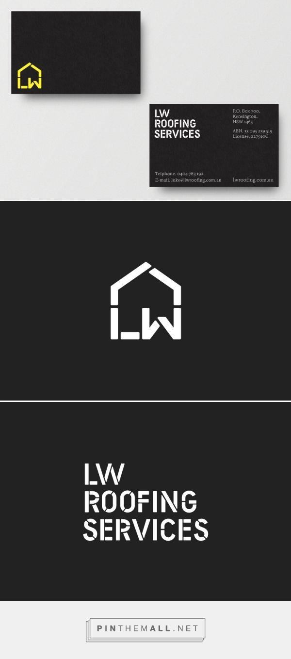 Logo for LW Roofing Services — Freelance Designer Richard Baird - created via http://pinthemall.net