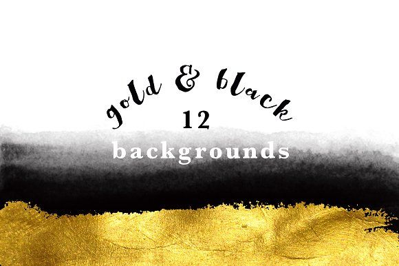gold and black backgrounds by GraphicRain on @creativemarket