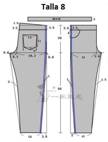 Pantalon de vestir corte clasico para niños con patrones | ManualidadesYa Paso a Paso faciles