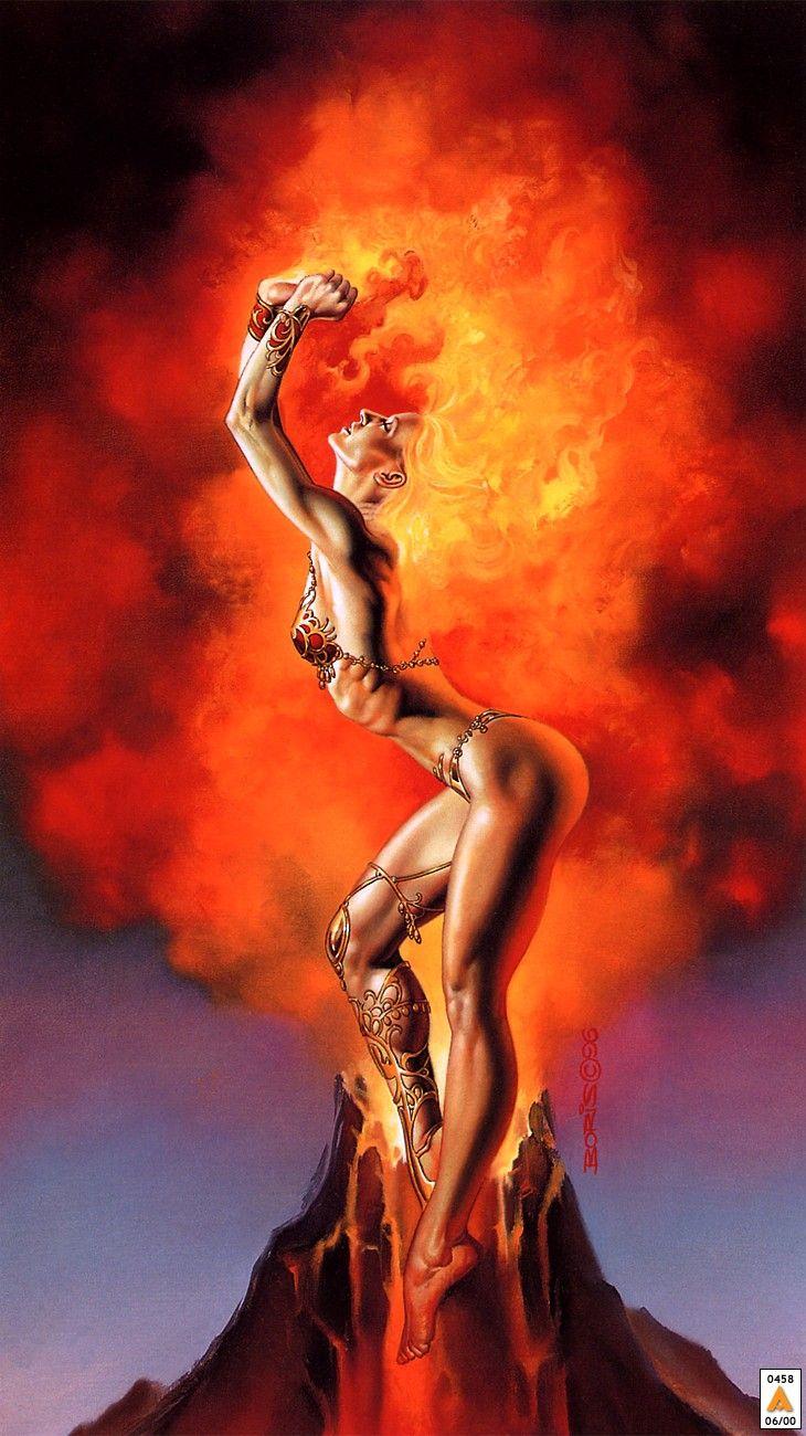 Mistress of Fire (1996) par Boris Valejo
