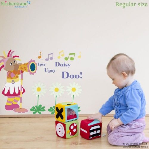Delightful Our Official In The Night Garden Wall Sticker Range Includes Igglepiggle  And All Your Other Favourite Characters From The Hit CBeebies Show. Part 18