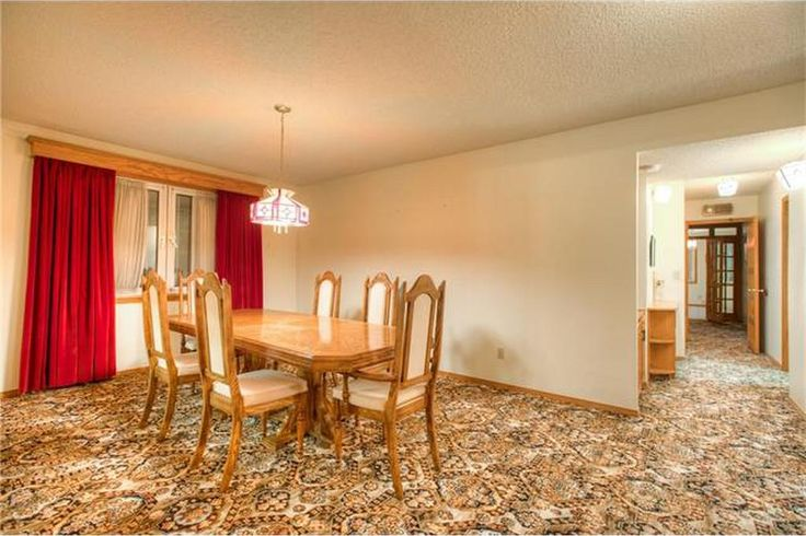 The positive aspect of this carpet; in the dining room, no one will notice the odd spill.