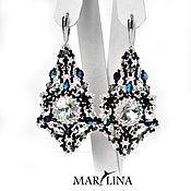 Магазин мастера MARLINA Марина Лезихина: серьги, броши, кулоны, подвески