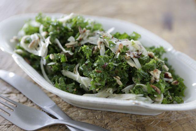 Kale - fennel salad   ///  boerenkool - venkel salade #5orless #lifefood #gezondeten