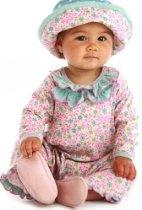 Baby Lulu Iris & Dot Romper
