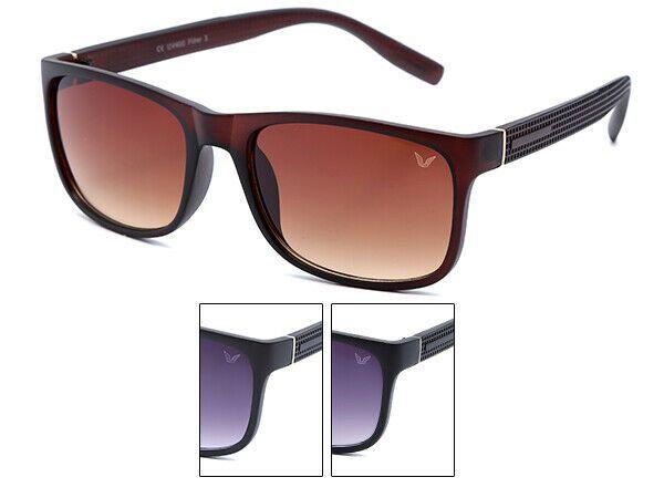 VIPER Damen und Herren Sonnenbrille schwarz bunt verspiegelt