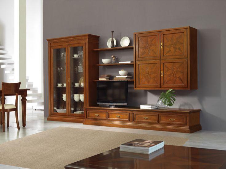 Florenzia modulo n 004 florenzia modulo classico accademia del mobile florenzia modulo - Mobili soggiorno classico ...