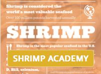 #SHRIMP RANKS NUMBER ONE  in volume among the various types of seafood consumed in the United States, and each American eats about 4.1 pounds of shrimp per year. Shrimp consumption in the U.S. also crosses all geographic and demographic boundaries and is equally popular in homes and restaurants.  http://www.americanshrimp.com/about-our-shrimp/shrimp-academy/