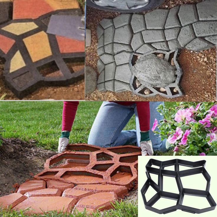 Best PlanBDriveway Images On Pinterest Driveways Concrete - Concrete lawn edging molds