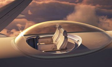 'SkyDeck' Is The Plane Seat We've All Been Waiting For
