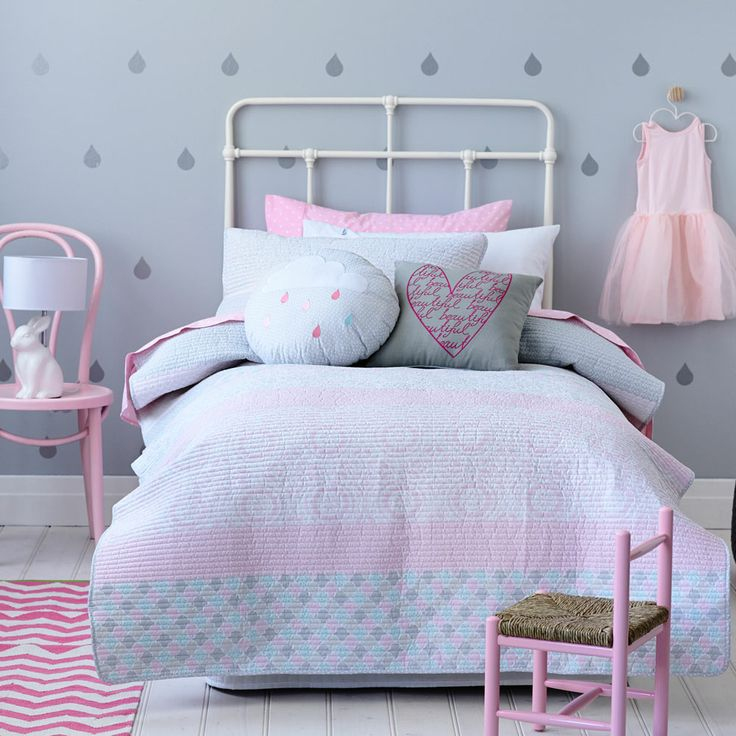 Adairs Kids Girls Celeste - Bedroom Quilt Covers & Coverlets - Adairs Kids online