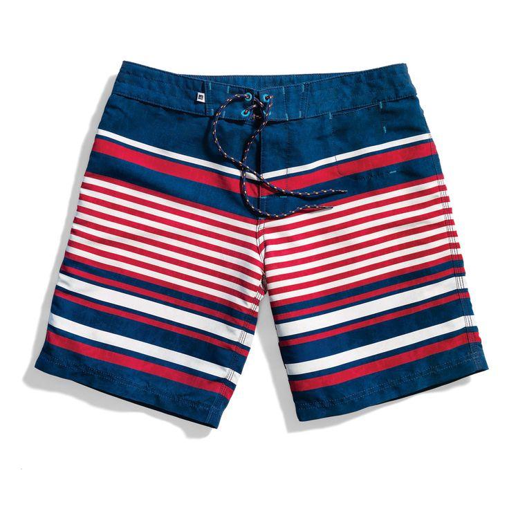 Stripes on stripes -Sperry Top-sider Men's Board Short