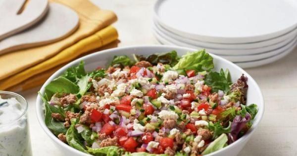 Salade gyro au dindon | Bien Faire
