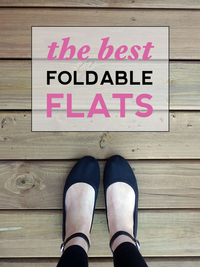 the best foldable flats