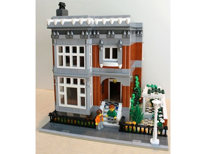 Lego Modular Houses Building Instructions
