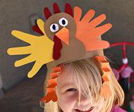 Handprint Turkey Hat