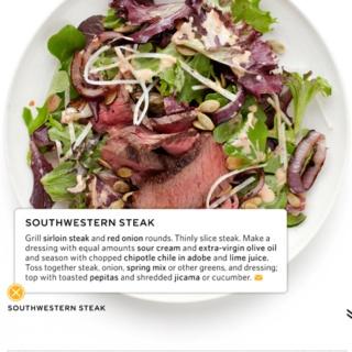 Steak salad, Everyday food and Steaks on Pinterest