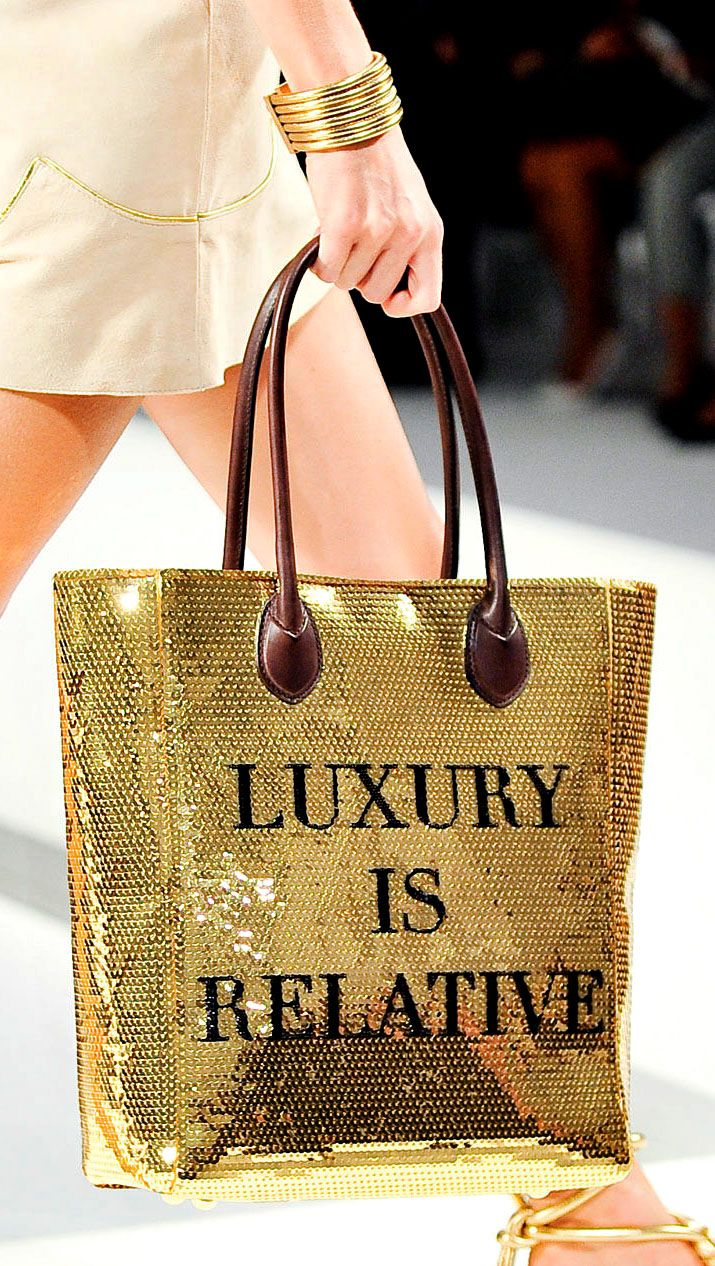 Luxury Is Relative
