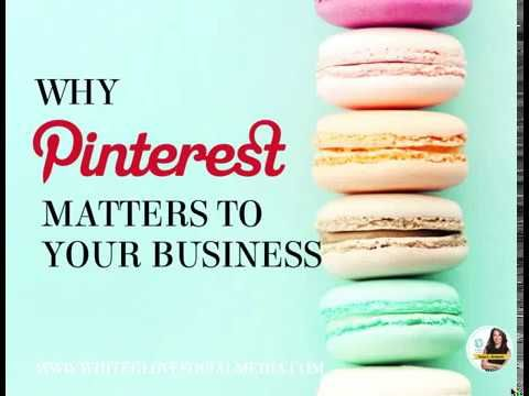 Why Pinterest Is Important to Your Business by Pinterest Expert Anna Bennett | Social Media Marketing Tutorials | #PinterestExpert #PinterestMarketing #PinterestTips #PinterestForBusiness #PinterestForBloggers #PinterestForBeginners | The Best Pinterest For Business Online Video Course