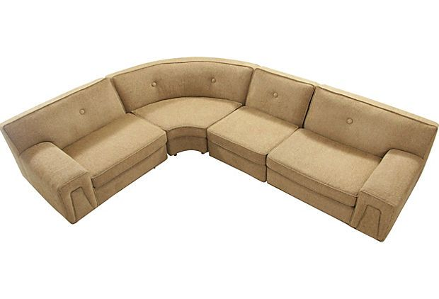 Wakefield Sectional Sofa, 4-Pcs. on OneKingsLane.com