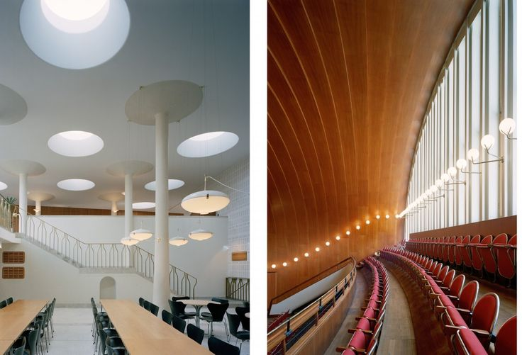 Eslöv Civic Hall. Architect Hans Asplund. » Lindman Photography