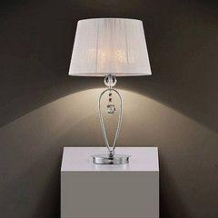 Lampa  nocna chromowana