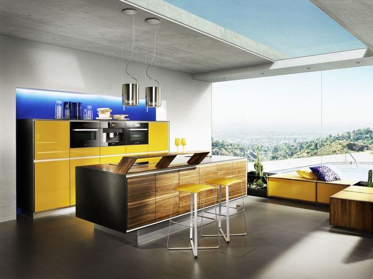 Luxusní kuchyně z masivu TEAM 7 - Decoland