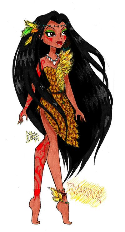 MH Disney: Pocahontas by ~Xibira on deviantART