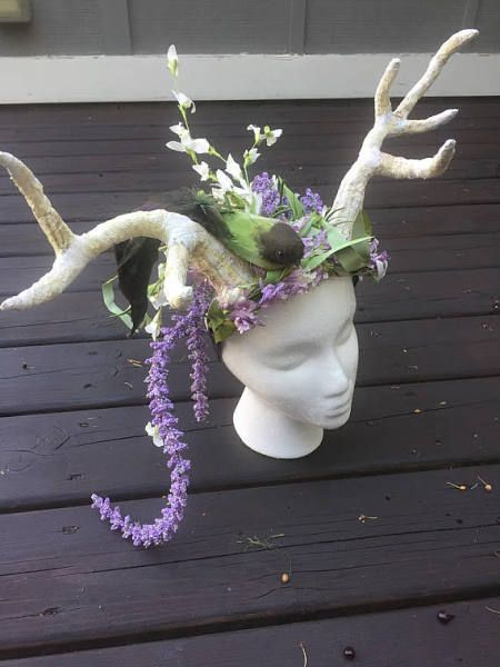 antler headband