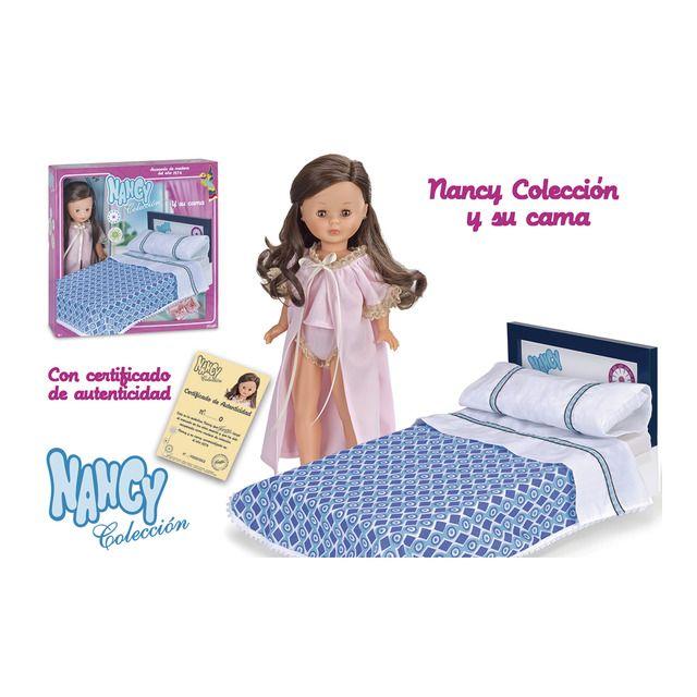 Muñeca y su cama Colección Nancy Famosa