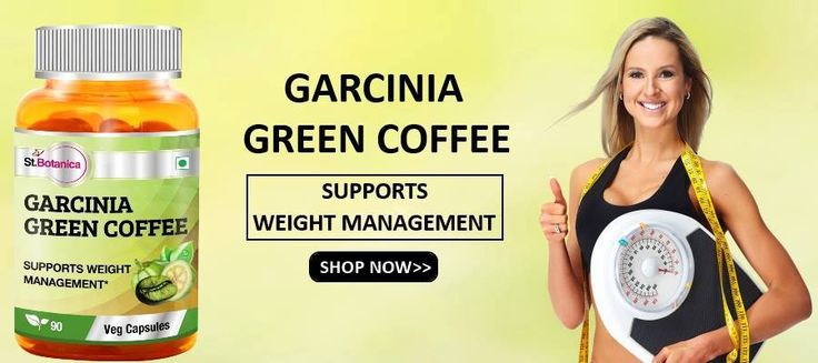 St.Botanica Garcinia Green Coffee Bean Extract For Weight Management And Appetite Suppressant Available Online.