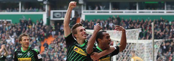 CAMPEONATO ALEMÃO - 33° RODADA - ENCERRADO:  Werder Bremen 0x2 Borussia M'Gladbach   - 2 gols do brasileiro Raffael