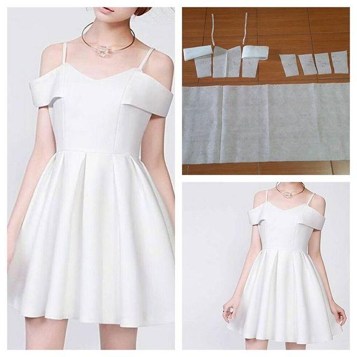 Sabrina little sleeve dress pattern. Order via line : @modelliste (with @) #dresspattern#modellistepattern#poladress#jualpola#jasapola#polabaju#jualpoladress#jasapembuatanpola#polapakaian#polatunik#polaatasan#polablouse#atasanwanita#tunicpattern#tunik#blouse#blousepattern#whitedress#dresspattern#polagown#sabrinadress
