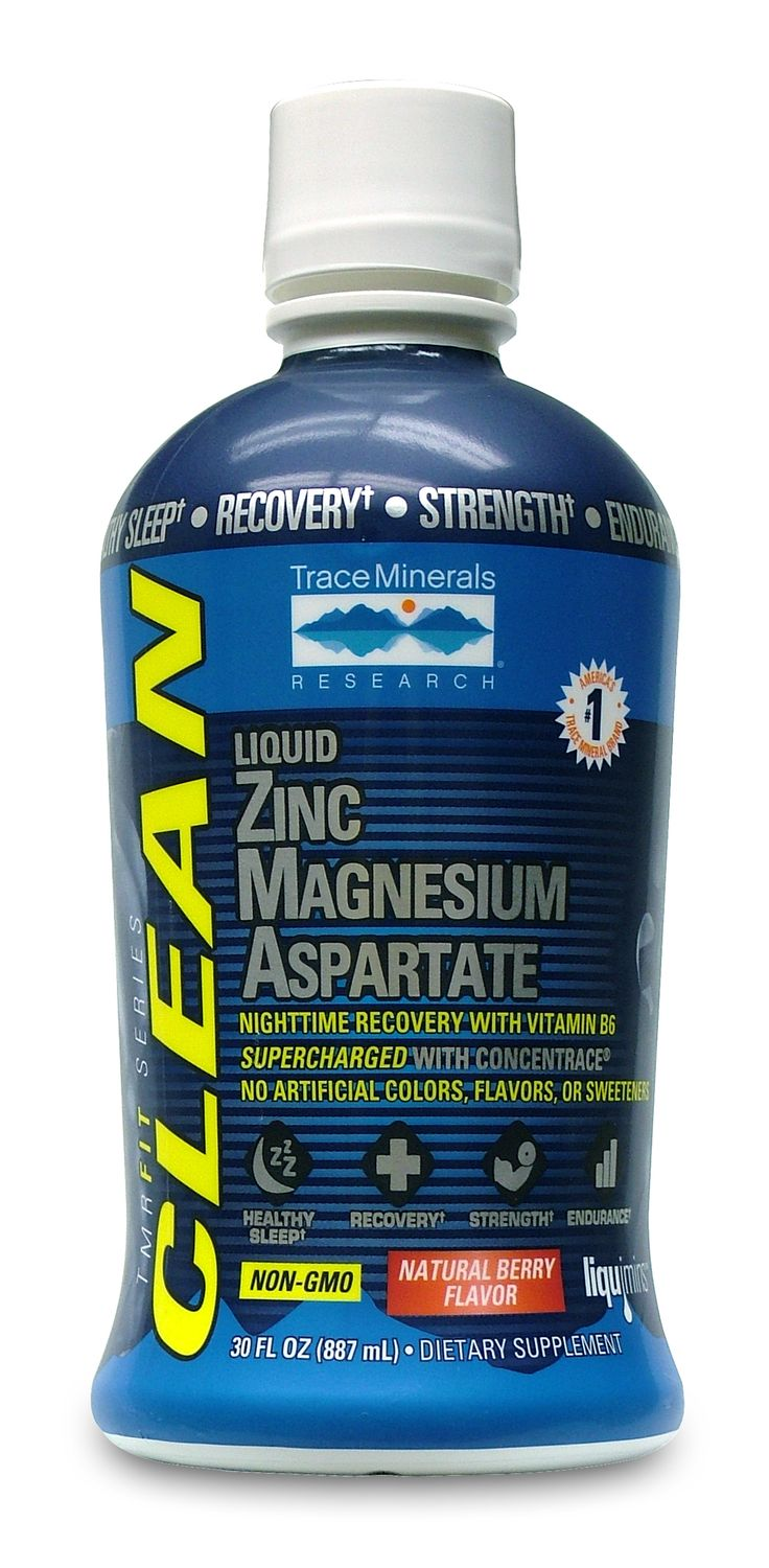 TMRFIT SERIES Liquid Zinc Magnesium Aspartate with ConcenTrace® contains no artificial colors, flavors, or sweeteners, and is NON-GMO for those who know why eating clean and supplementing clean is essential for peak training at any level. It's been formulated with 450mg of Magnesium Aspartate/Glycinate, 30mg of Zinc Aspartate, and 11mg of Vitamin B6 and ConcenTrace® to help support healthy sleep, recovery, strength, and endurance.†