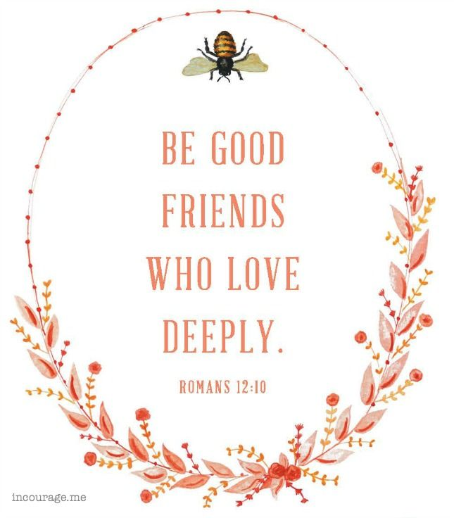 Bible Verses About Fake Friendship : Best ideas about romans on bible verses