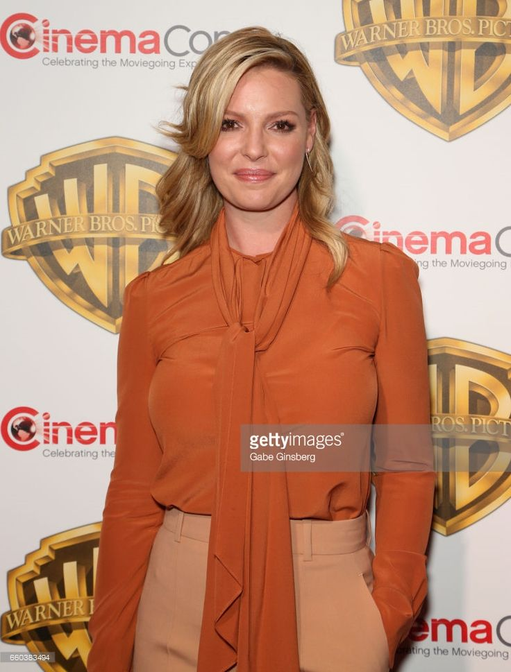 Actress Katherine Heigl attends the Warner Bros. Pictures presentation during CinemaCon at The Colosseum at Caesars Palace on March 29, 2017 in Las Vegas, Nevada.