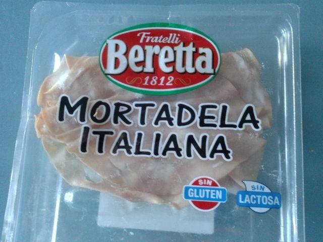 Mortadella bolognese.