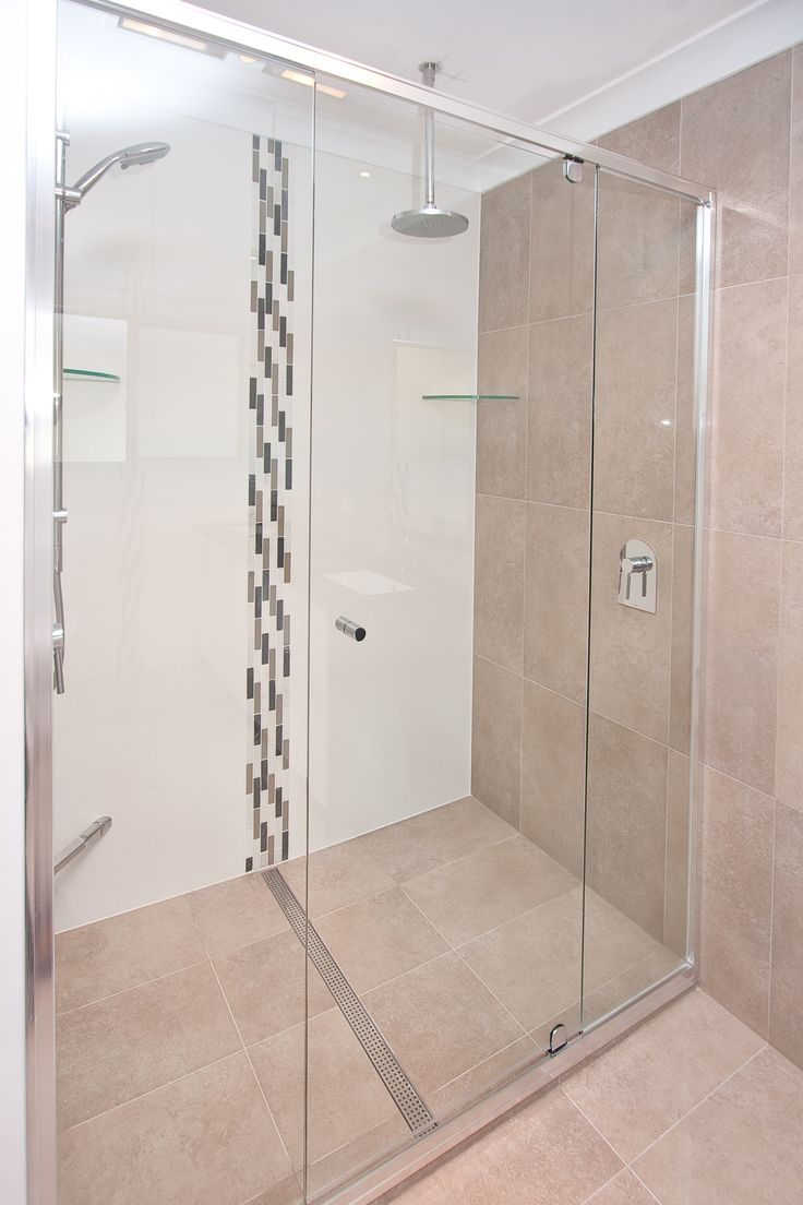 Your shower doesn't need to be a cramped space! www.onecallkitchens.com.au