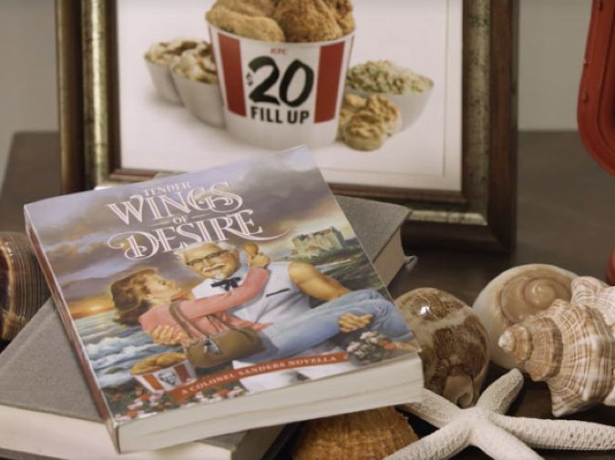 """""""Tender Wings of Desire"""" – a KFC romantic novela made for Valentine's Day on Collaboration Generation – the latest and best in brand innovation"""