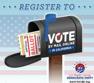 Register To Vote Online In California