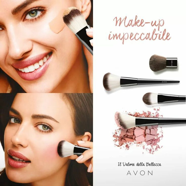 Non serve essere una make-up artist per creare il tuo trucco preferito… Basta avere gli strumenti giusti!  Scopri tutti i pennelli Avon per ottenere un trucco impeccabile ;)