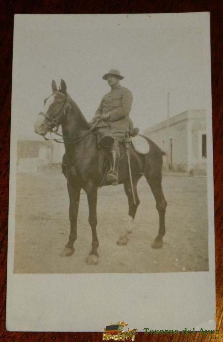 OFICIAL DE CABALLERIA, GUERRA DEL RIF, SEGANGAN 1921