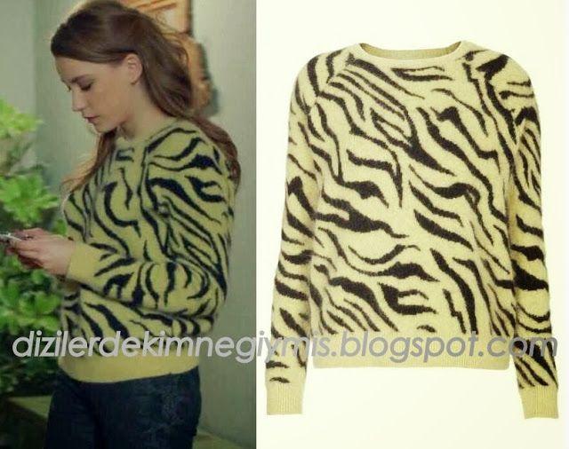 Medcezir - Mira (Serenay Sarıkaya), Topshop Sweater