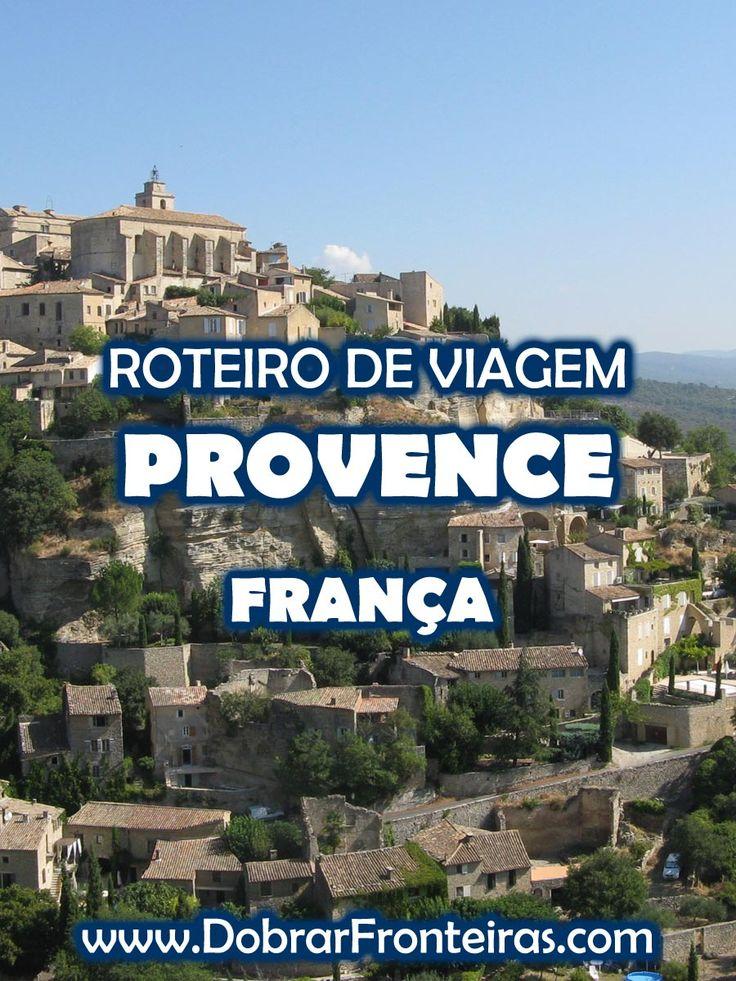 No verão de 2009 visitei alguns dos mais belos locais da Provence, no sul de França. Foi a partir dessa experiência que elaborei este pequeno roteiro.