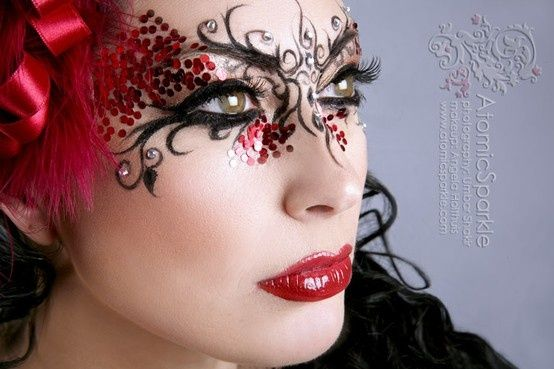 Gallery For gt Masquerade Ball Makeup And Hair