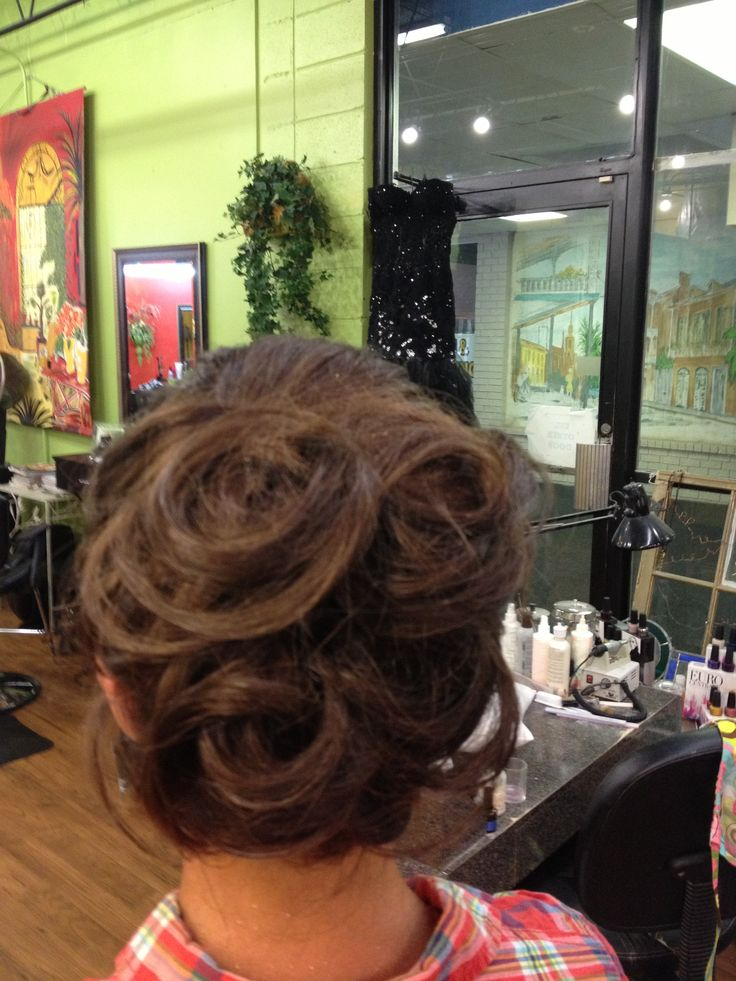 Pageant or prom style by  Angela Hall